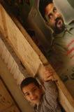 阵营儿童巴勒斯坦人 免版税库存图片