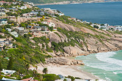 阵营方式海滩南非 免版税库存照片