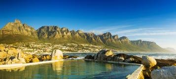 阵营海湾全景在开普敦,南非 库存图片