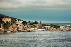阵营海湾开普敦南非 免版税库存图片