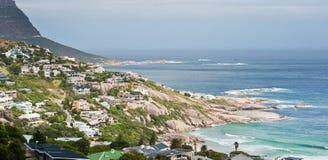 阵营海湾海滩南非 库存图片