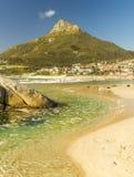 阵营海湾海滩在开普敦,南非 图库摄影