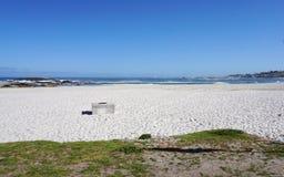 阵营海湾美丽的海滩在开普敦,南非 图库摄影