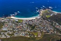 阵营海湾,南非 免版税库存图片