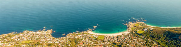 阵营海湾,开普敦,南非 免版税库存照片