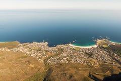 阵营海湾,开普敦,南非 库存照片