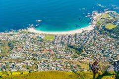 阵营海湾,开普敦,南非 免版税库存图片