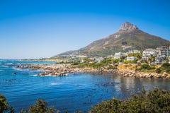 阵营海湾-南非 免版税库存照片