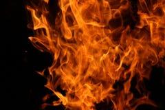 阵营火的舞蹈 库存照片