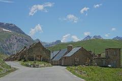 阵营des富尔谢, Parc全国du Mercantour,法国 免版税图库摄影