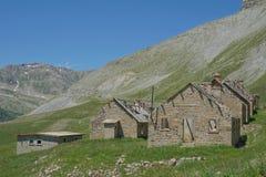 阵营des富尔谢, Parc全国du Mercantour,法国 库存图片
