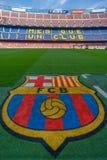 阵营Nou巴塞罗那足球俱乐部 库存图片