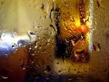 阵雨视图 库存照片