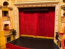 阶段剧院 库存照片
