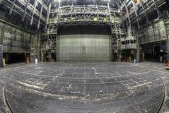 阶段在被放弃的剧院 库存图片