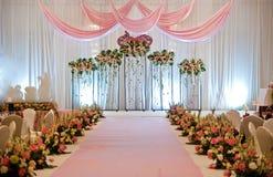 阶段婚礼 库存照片