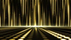 阶段设计的数字式抽象行动光点样式背景 免版税库存图片
