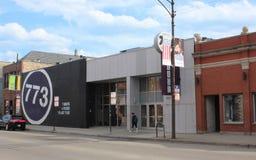阶段773,芝加哥圈剧院 库存图片