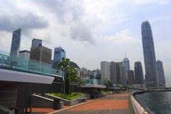 阶段ii国际金融中心 免版税库存照片