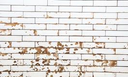 阻拦坏的大理石墙壁 库存照片