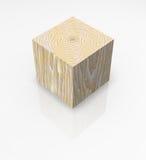 阻拦多维数据集查出的实体木材 皇族释放例证