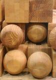 阻拦木头 免版税库存照片