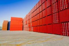 阻拦货物 免版税库存图片