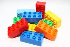 阻拦lego 库存照片