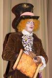 从阿丽斯的疯狂的帽商在妙境 免版税图库摄影