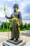 阿什伽巴特独立纪念碑03 免版税库存照片