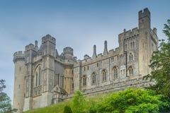 阿伦德尔城堡前面 库存图片