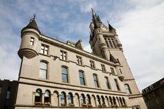 阿伯丁大厅城镇 免版税库存图片