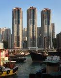阿伯丁港口香港 免版税图库摄影