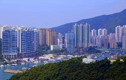 阿伯丁香港 免版税库存照片