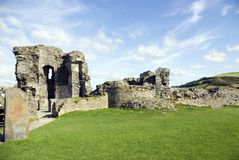 阿伯斯威斯城堡 库存照片