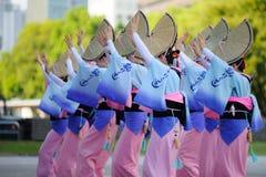 阿佤舞蹈 库存照片