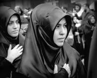 阿修罗全球性悼念仪式  卡尔巴拉迫害Commemor 免版税库存照片