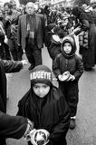 阿修罗全球性悼念仪式  卡尔巴拉迫害Commemor 库存照片