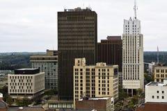 阿克伦城俄亥俄 免版税库存图片