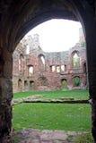 阿克屯burnell城堡门道入口 免版税库存照片