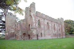 阿克屯burnell城堡 免版税库存照片
