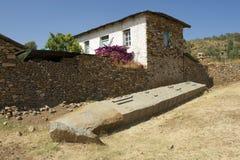 阿克苏姆,埃塞俄比亚联合国科教文组织世界遗产名录方尖碑  库存图片