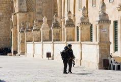 阿克萨清真寺 免版税图库摄影