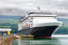 阿克雷里,冰岛- 2014年7月22日 免版税库存照片