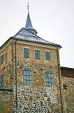 阿克什胡斯堡垒在奥斯陆,挪威 免版税图库摄影