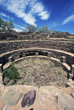 阿兹台克墨西哥新的废墟 库存照片