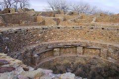 阿兹台克废墟 免版税库存照片