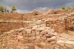 阿兹台克废墟 库存图片