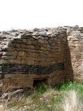 阿兹台克废墟 库存照片