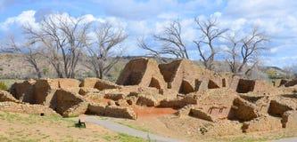阿兹台克废墟 图库摄影